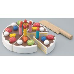 《 日本 Ed-Inter 》木玩系列 - 小小蛋糕達人