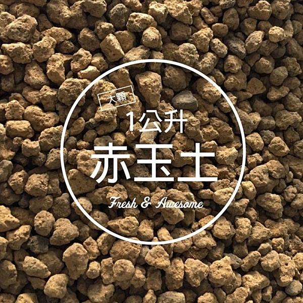〔品質保證〕CARMO嚴選日本赤玉土(1L) 天然介質 赤玉 鋪面【C002008】