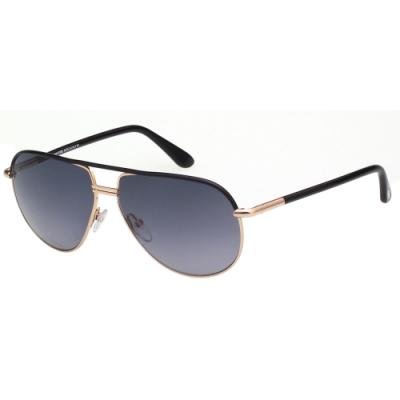 TOM FORD 飛官款 太陽眼鏡(黑配金)TF285