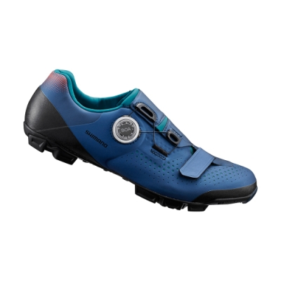 【SHIMANO】XC501 女性登山車鞋 海軍藍色