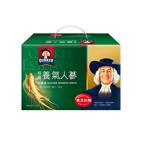 桂格養氣人蔘無糖配方60ml x19【愛買】