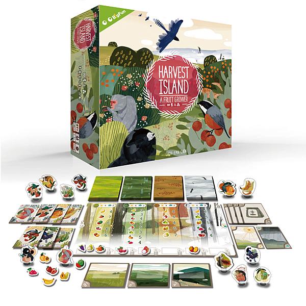 『高雄龐奇桌遊』 四季之森 Harvest Island 繁體中文版 正版桌上遊戲專賣店