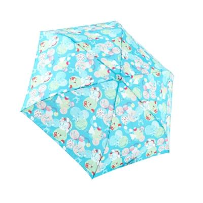 RAINSTORY蘑菇小鹿(藍綠)抗UV手開輕細口紅傘
