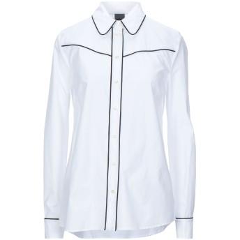 《セール開催中》PINKO レディース シャツ ホワイト 38 コットン 100%