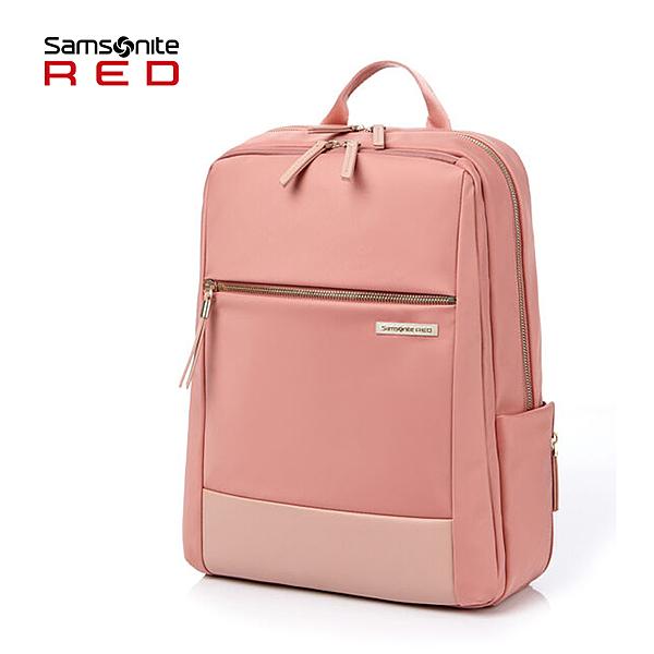 新品 Samsonite RED 新秀麗【AREE HE7】14吋筆電後背包 輕量 抗菌口袋 大容量 可插掛