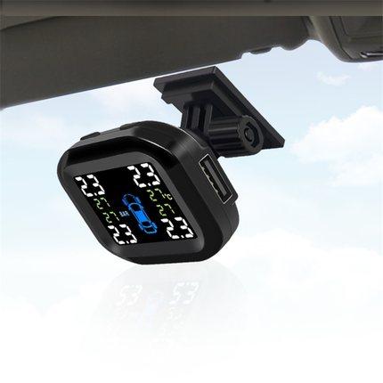 胎壓偵測器 胎壓監測器 汽車輪胎壓力檢測器偵測器USB電源接線改裝內外置TPMS『SS1026』