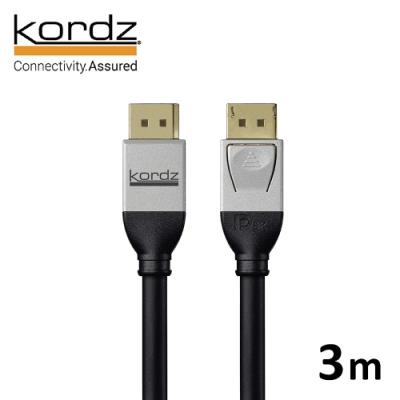 Kordz PRO 高速影音DisplayPort 1.4傳輸線 3m