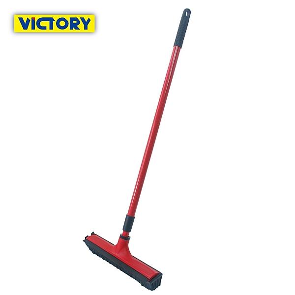【VICTORY】彈力軟毛刮水大地板清潔刷(2支)#1029016