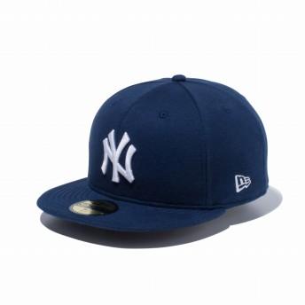 NEW ERA ニューエラ 59FIFTY スウェット ニューヨーク・ヤンキース ネイビー × ホワイト ベースボールキャップ キャップ 帽子 メンズ レディース 7 1/2 (59.6cm) 12326412 NEWERA