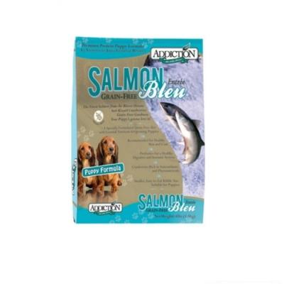 紐西蘭-ADDICTION自然癮食 野生藍鮭魚無穀幼犬寵食 20lbs(9kg) (購買二件贈送全家禮卷100元*1張)