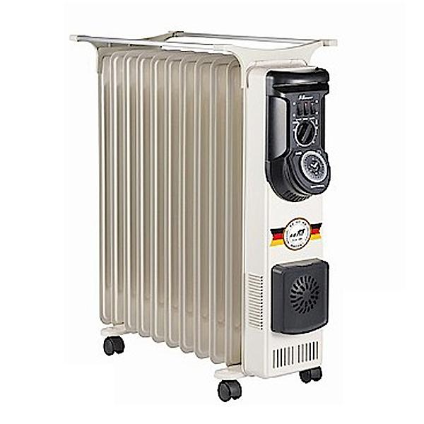 【北方】11葉片式恆溫定時電暖爐 NA-11ZL