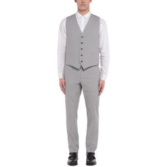 《セール開催中》DOLCE & GABBANA メンズ スーツ ライトグレー 52 コットン 97% / ポリウレタン 3%