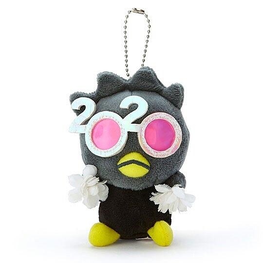 〔小禮堂〕酷企鵝 絨毛玩偶娃娃吊飾《黑》掛飾.鑰匙圈.2020花漾系列 4901610-16448