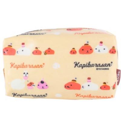 水豚君甜點系列化妝包。黃色 kapibarasan