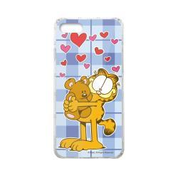 加菲貓GARFIELD正版授權 iPhone7/iPhone8雙料玻璃防摔透明殼-小熊抱抱