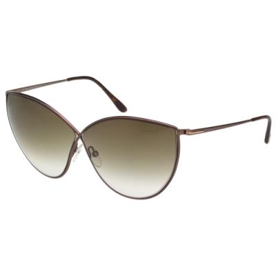 TOM FORD 經典八字 太陽眼鏡(咖啡色)TF251