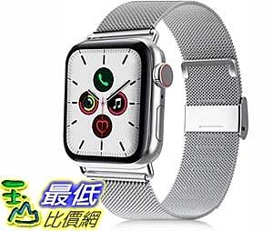 [9美國直購] 錶帶 VATI Compatible with Apple Watch Band 42mm 44mm, Stainless Steel Mesh Sport Wristband Loo
