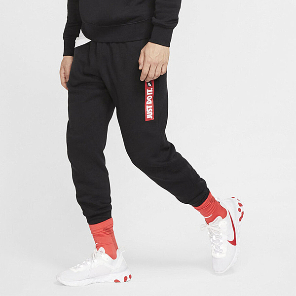 Nike Sportswear JDI [BV5100-010] 男款 街頭 健身 運動褲 棉質 輕鬆 舒適 黑