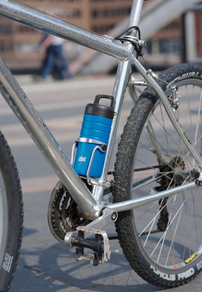 esbit 鋼硬系列廣口真空瓶450ml - 北極藍