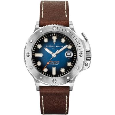 GIORGIO FEDON 1919 AQUAMARINE II 海洋機械錶(GFCR001)