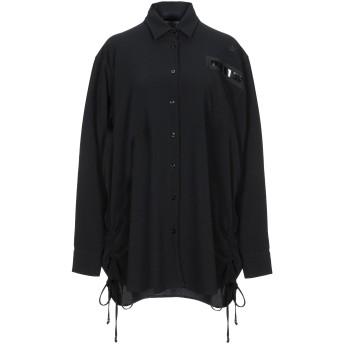 《セール開催中》THE EDITOR レディース シャツ ブラック 42 ポリエステル 96% / ポリウレタン 4%