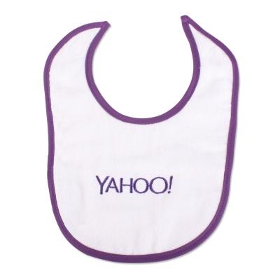 Yahoo! 紫色logo圍兜