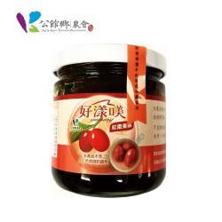 【公館鄉農會】紅棗果茶 225公克/瓶