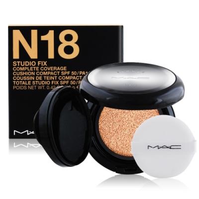 M.A.C 超持妝全能氣墊粉餅SPF50/PA++++12g#N18