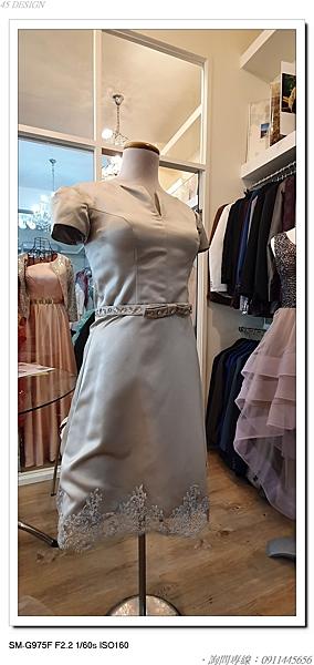 (45 Design高雄實體店面) 現貨零碼-極速出貨-特賣出清 大尺寸 小尺寸洋裝 短禮服 媽媽服伴娘 S75