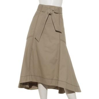 ステッチデザインマーメイドスカート