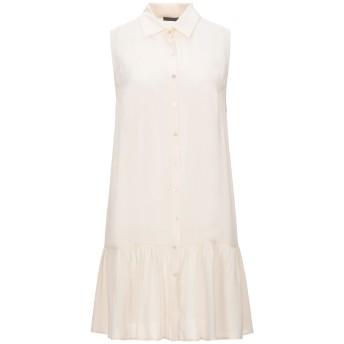《セール開催中》PINKO レディース ミニワンピース&ドレス アイボリー L シルク 100%