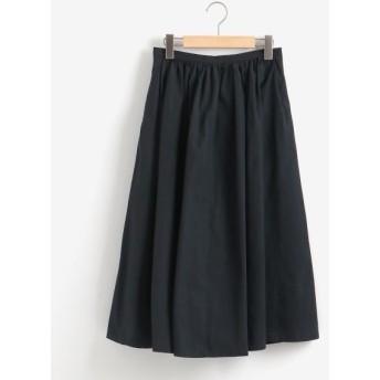 NIMES/ニーム カラーボトムスギャザースカート ネイビー 0