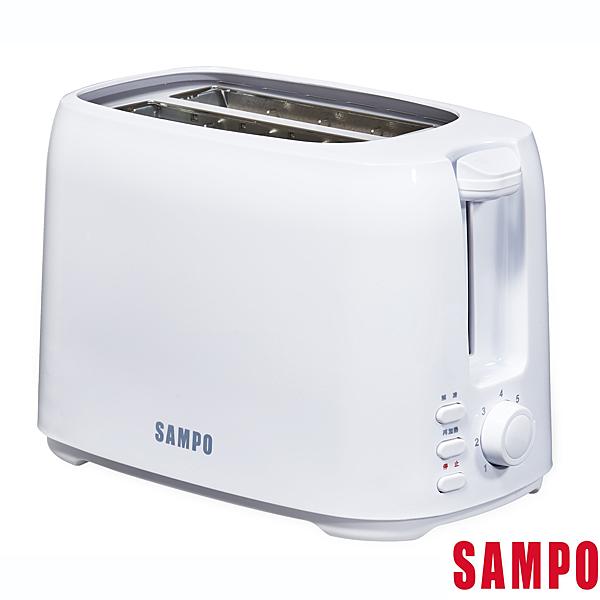 ((福利電器)) SAMPO聲寶烤麵包機 TR-SC65C (福利品) 雙層防燙 可中途停止 可烤厚片 可超取
