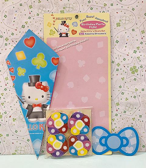 【震撼精品百貨】Hello Kitty 凱蒂貓~三麗鷗 KITTY 玩具魔術道具*92104-藍