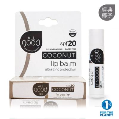ALLgood 喝飽水潤澤護唇膏 – 經典椰子 4.25g