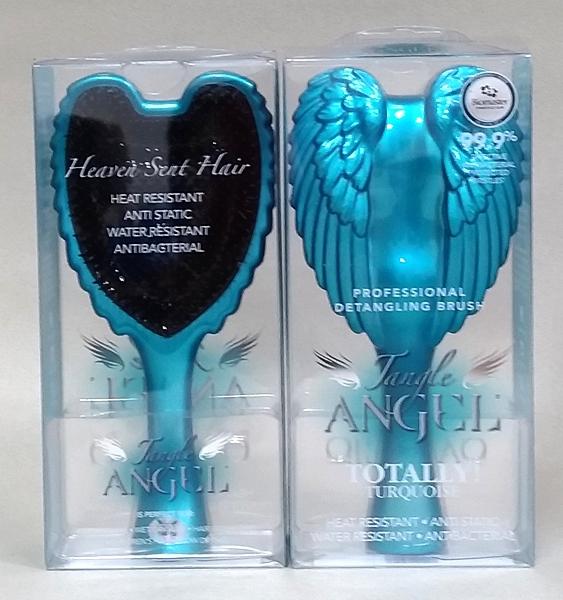 英國TANGLE 2.0天使梳/藏青 TT/原裝進口/耐熱 抗菌 抗靜電細緻的質感/尺寸 18.7 cm