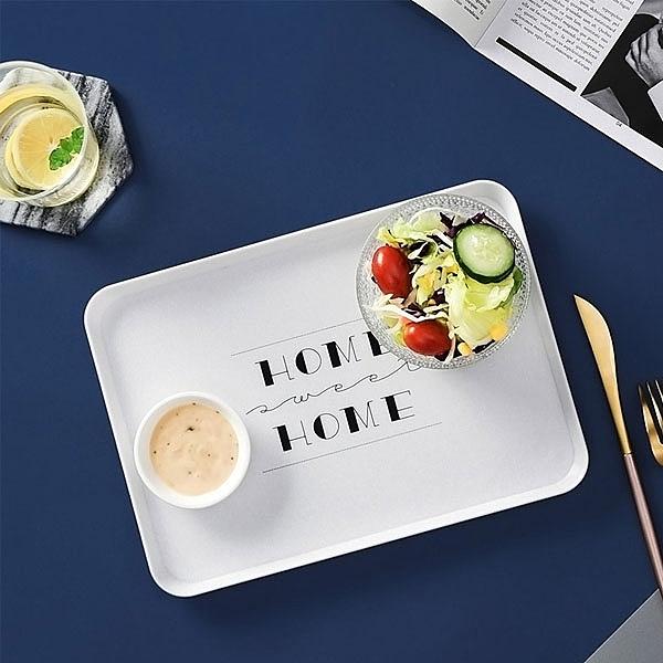 【樂邦】餐盤 簡約 居家 北歐風 方形 托盤 蛋糕盤 餐點盤 歐式