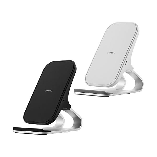 REMAX RP-W12 鋁合金桌面無線充 10W無線充 無線充電 IPHONE無線充 無線充電支架 正版台灣公司貨