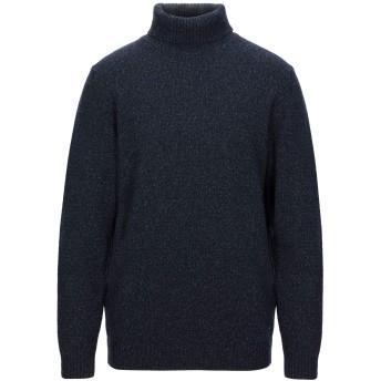 《セール開催中》LIU JO MAN メンズ タートルネック ダークブルー XXL 毛(アルパカ) 38% / ナイロン 25% / ウール 25% / シルク 12%