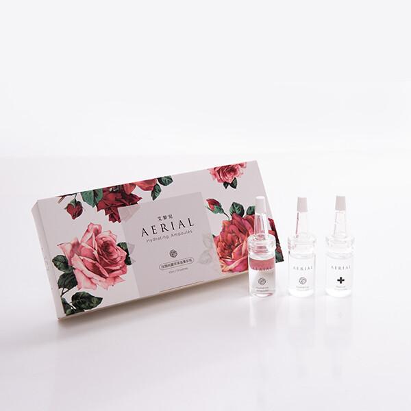 艾黎兒玫瑰純露保濕滋養安瓶(10mlx3瓶)