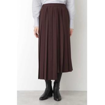 HUMAN WOMAN/ヒューマンウーマン ◆T.yamaiコラボスカート ブラウン S