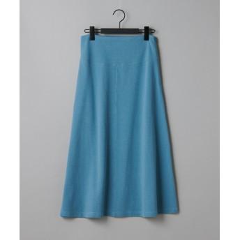 COLONY 2139(コロニー トゥーワンスリーナイン) レディース ミニワッフルフレアスカート ブルー