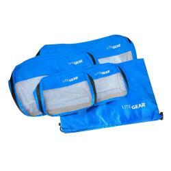 Lite Gear 衣物收納袋五件組 - 藍