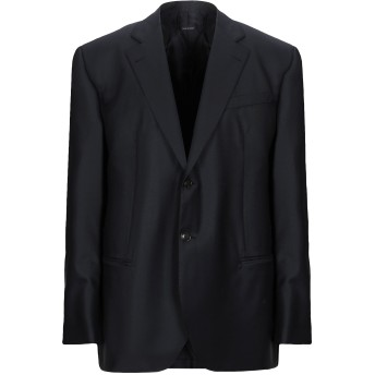 《セール開催中》GIORGIO ARMANI メンズ テーラードジャケット ダークブルー 60 バージンウール 90% / カシミヤ 10%