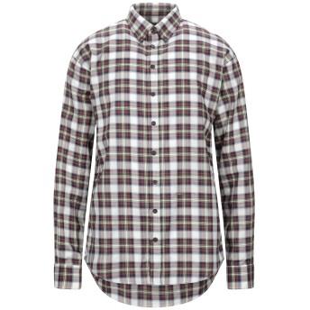 《セール開催中》DSQUARED2 メンズ シャツ レッド 46 コットン 100%