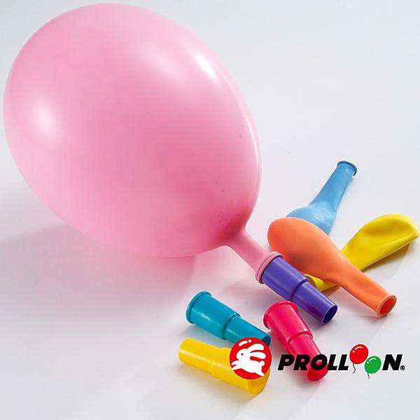 【大倫氣球】哨子氣球 4入裝 WHISTLE BALLOON 氣球玩具 台灣製造 天然乳膠 顏色隨機出貨