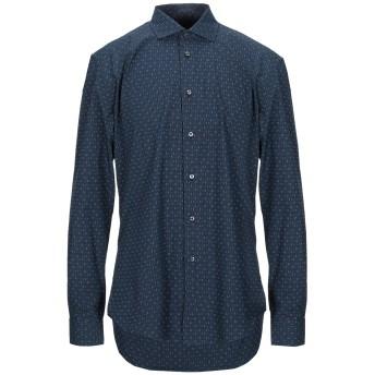 《セール開催中》BRIAN DALES メンズ シャツ ダークブルー 44 コットン 100%