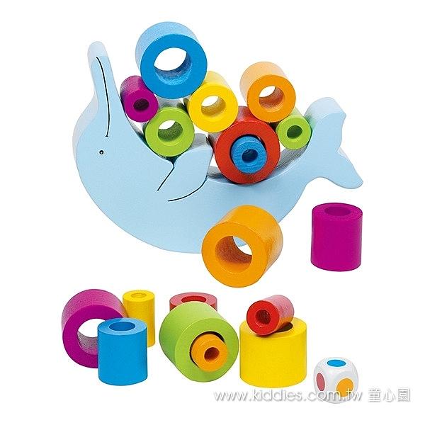 《 童心園 》goki 海豚堆堆 / JOYBUS玩具百貨