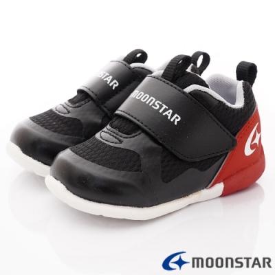 日本月星頂級童鞋 3E超輕量學步款 TW156黑(寶寶段)