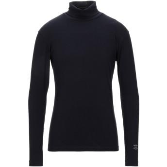 《セール開催中》DANIELE ALESSANDRINI HOMME メンズ T シャツ ダークブルー S コットン 100%